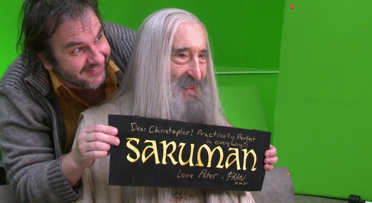 Christopher Lee Peter Jackson