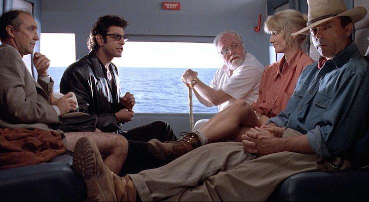 Jurassic Park, Dr. Grant, Sattler, Ian Malcolm, John Hammond, Gennaro