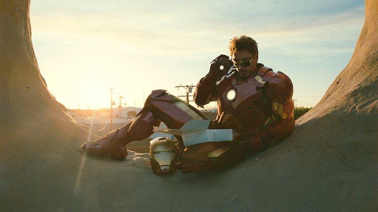 Tony Star, Iron Man 2, donuts