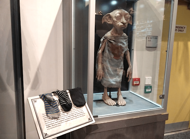 Dobby is A Free Elf (For the Suggested Donation of One Sock)