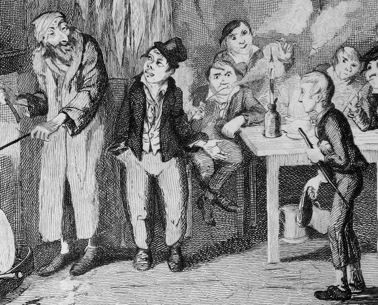 I need an essay of (Oliver Twist) melodrama ?