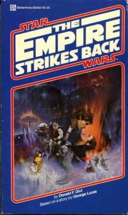 Star Wars: The Empire Strikes Back cover novel