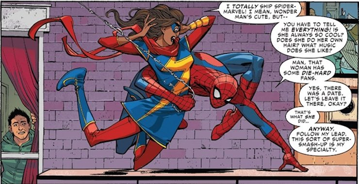 WOC superheroes TV Kamala Khan Ms. Marvel