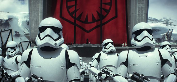 First Order stormtroopers, Star Wars