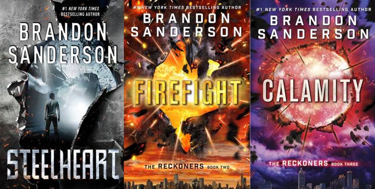 The Reckoners series Brandon Sanderson