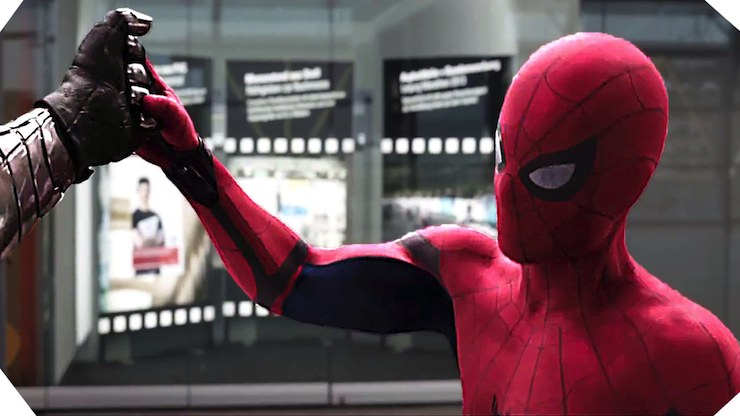 Spider-Man, Captain America Civiil War