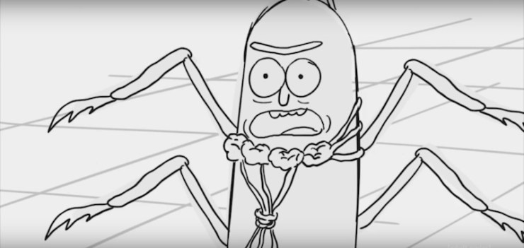 Allow Rick & Morty to Present the Most Disturbing Version of Kafka's Metamorphosis
