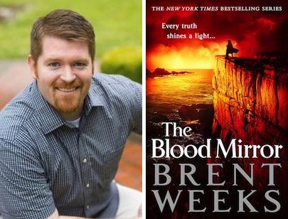 Brent Weeks The Blood Mirror Lightbringer series