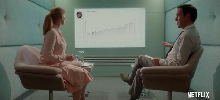 """Black Mirror season 3 """"Nosedive"""" television review"""