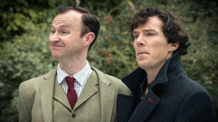 Mark Gatiss response Sherlock James Bond comparison rhyming verse Sir Arthur Conan Doyle