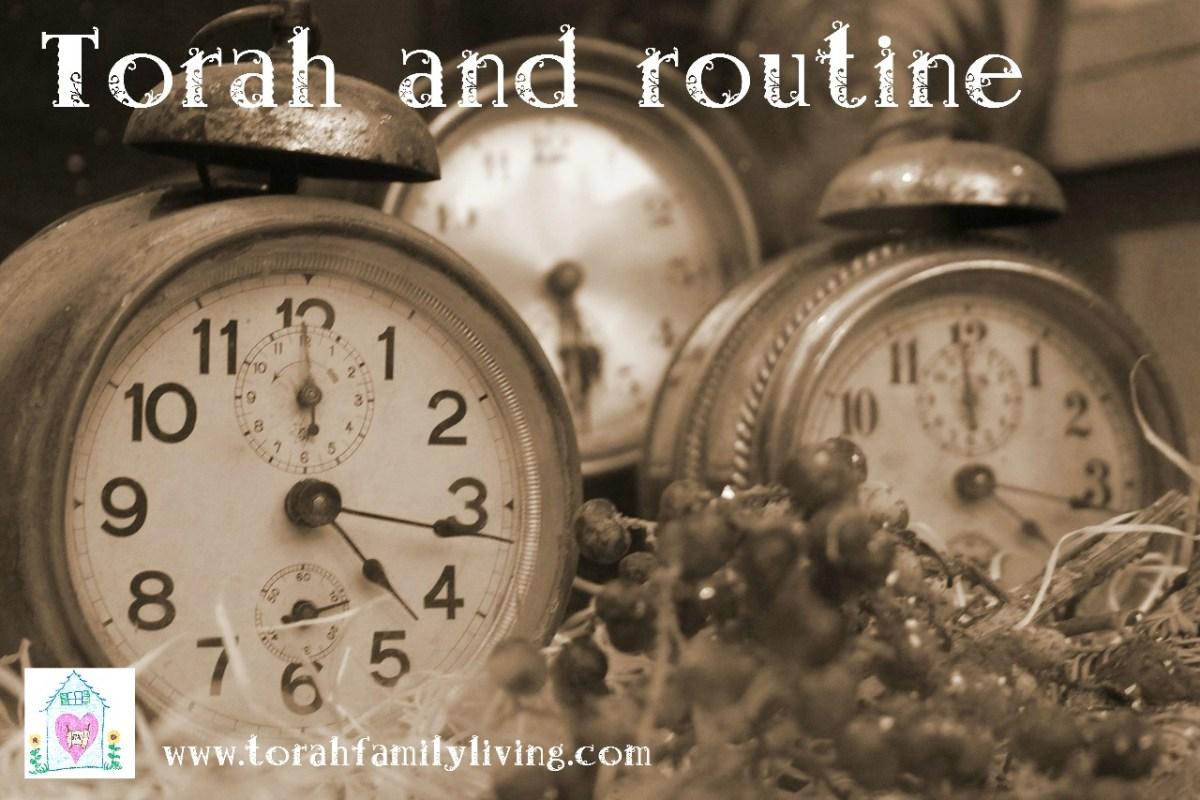 Torah home management - routine