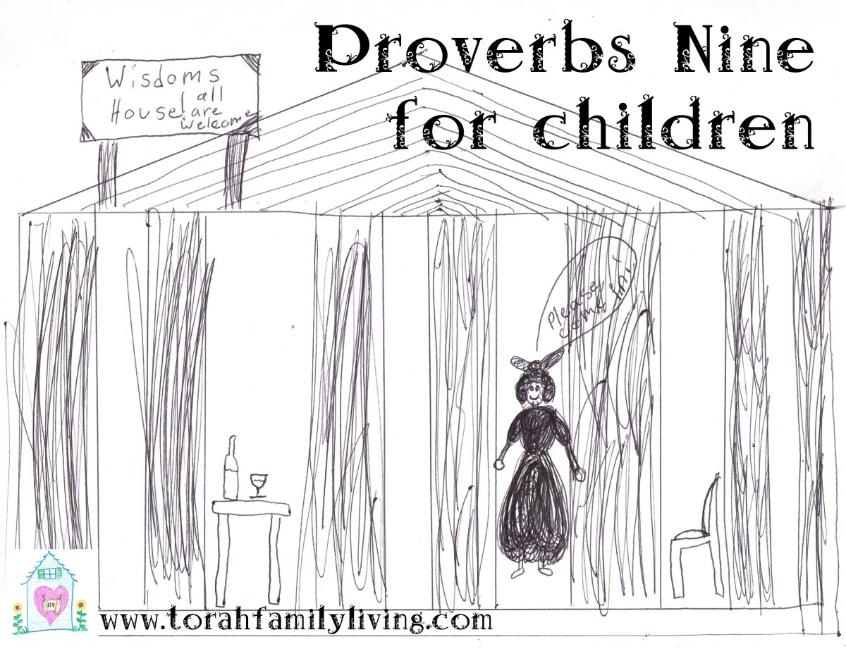Proverbs 9 for children