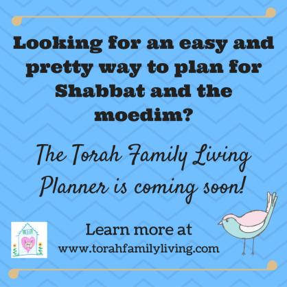 Torah Family Living Planner