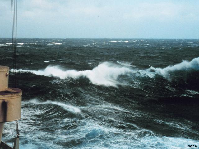 Tsunamis - ocean waves animations
