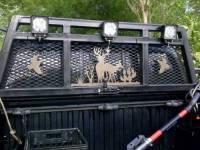 Pickup truck headache rack customized with Torchcraft ...