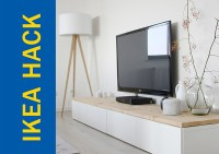 Awesome Ikea Hack of the Week: A TV stand thats modern ...