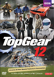 Top Gear Season 12 DVD