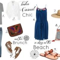 Boho Chic Clothing; Boho Bags