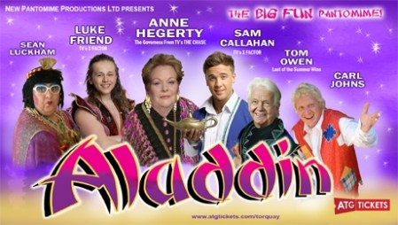 Aladdin - Princess Theatre Torquay @ Princess Theatre | England | United Kingdom