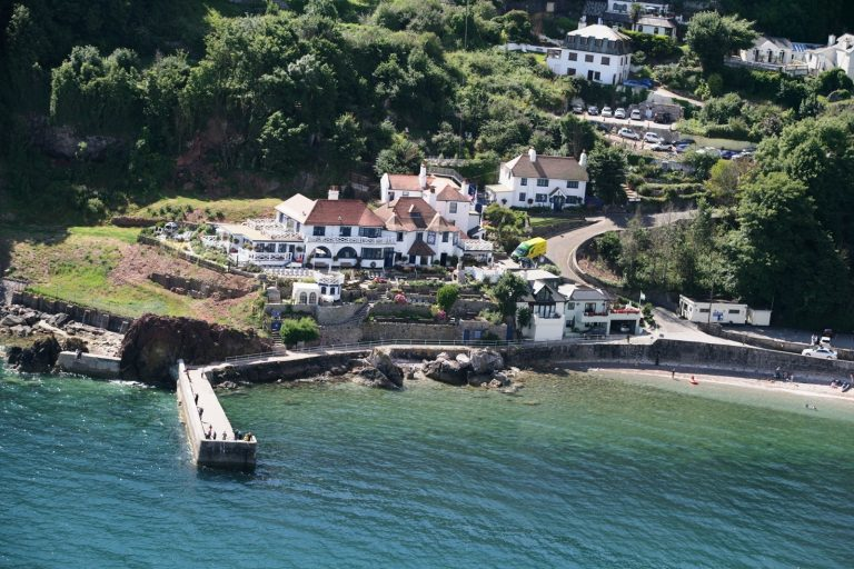 Babbacombe Beach for dog walks