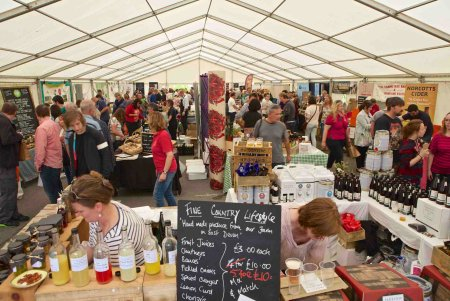 Dartington Food Fair @ The Shops at Dartington | Shinner's Bridge | England | United Kingdom