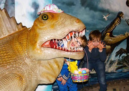 Dinosaur Easter Egg Hunt @ Torquay Dinosaur World | England | United Kingdom