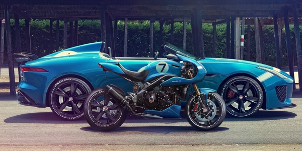 Car Garage Wallpaper Jaguar S Project 7 And A Motorcycle To Die For Torque News