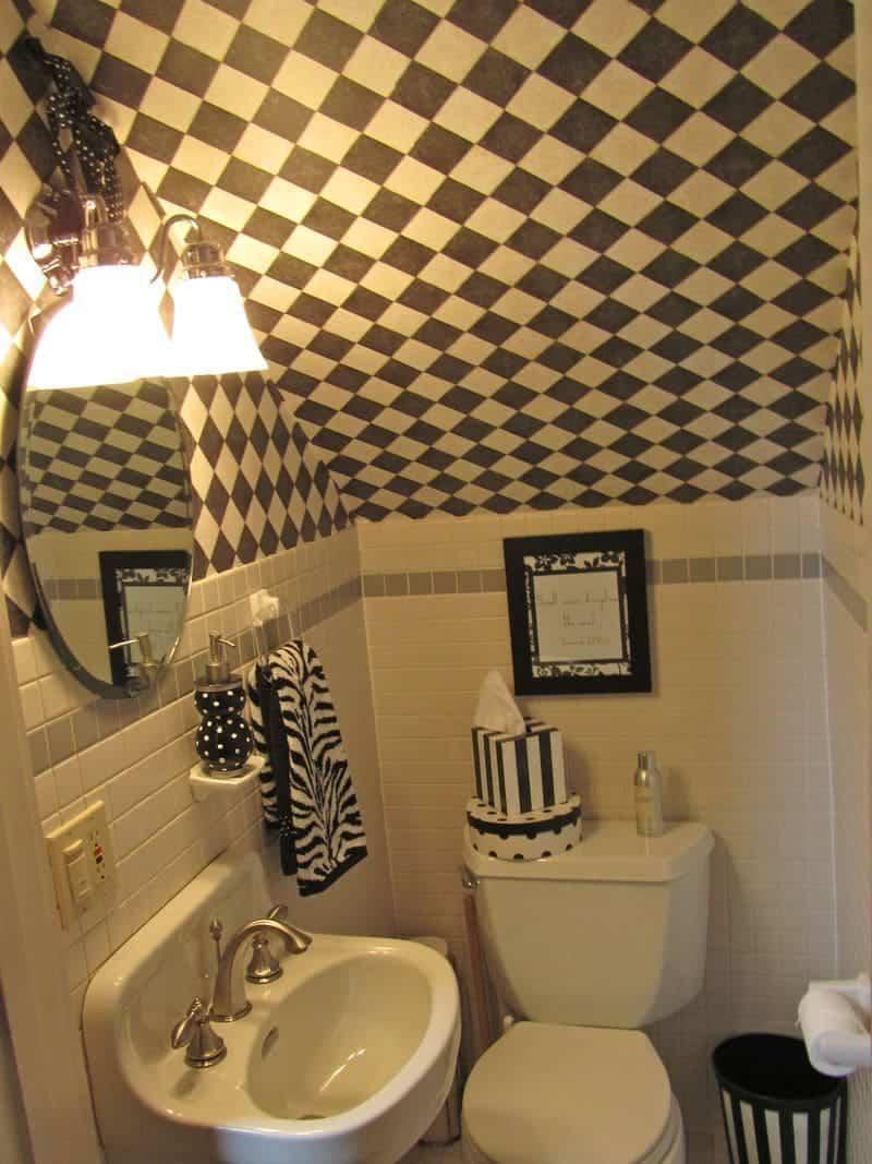 3d Wallpaper Decorating Ideas Banheiro Embaixo Da Escada Total Constru 231 227 O