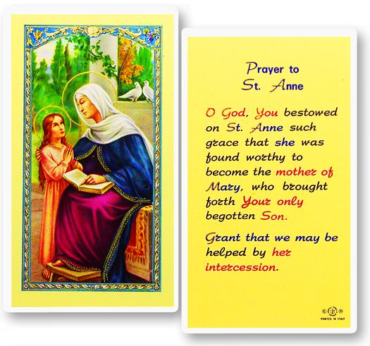 Individual Laminated Holy cards