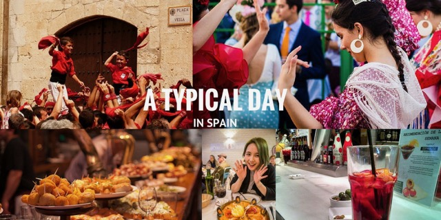 Typical Day in Spain │ The Real Customs, Traditions  Rituals