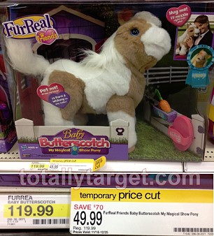 Butterscotch pony coupon