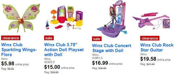Winx coupon target