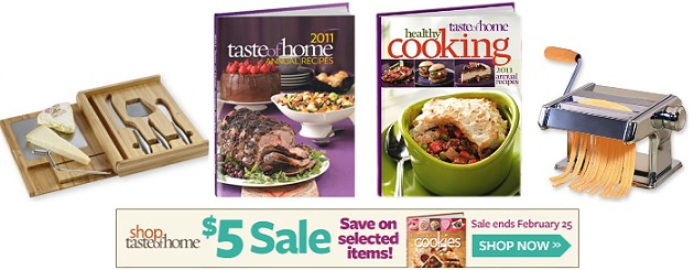 Shop Taste Of Home Coupon Codes, Promos & Sales. Want the best Shop Taste of Home coupon codes and sales as soon as they're released? Then follow this .