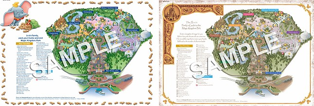 FREE Customized Walt Disney World Park Maps TotallyTarget