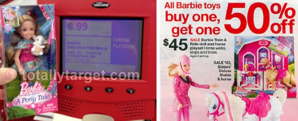 Target Toy Book 2013 : Target or barbie toys b g off