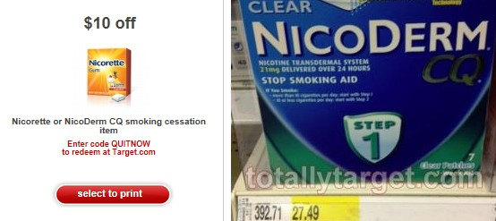 Nicorette Coupons and Discounts Nicorette is an over-the-counter medication prescribed to help patients stop smoking. This drug replaces the nicotine you receive from smoking, making the .