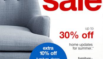 Target Online Furniture Sale Up To 30 Off Extra 10 Off Online
