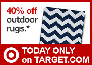 Target: 40% Off Outdoor Rugs Online Today Only 5/21 ...