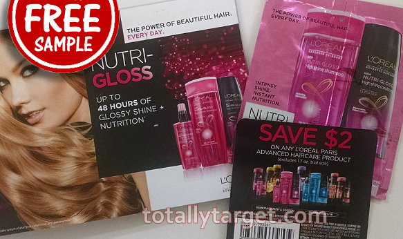 Request A FREE Sample Of L'Oreal Hair Care   TotallyTarget.com