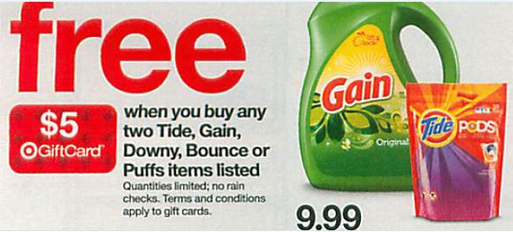 tide gift card deal
