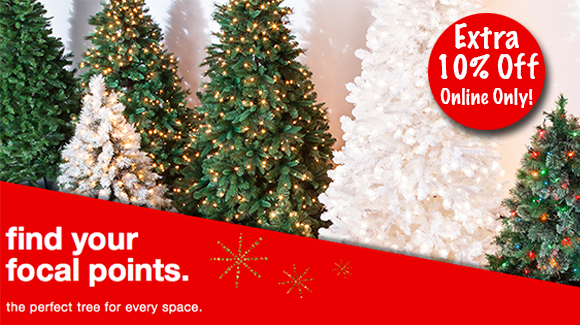 Andu2026 If You Are Shopping For An Artificial Tree U2013 Target.com Is Offering An  Extra 10% Off Christmas Trees When You Enter Code TREES At Checkout.