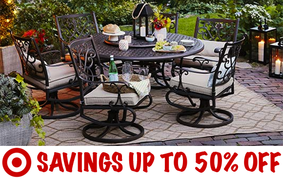 And Right Now, Target.com Is Offering Some Nice Clearance Deals On Patio  And Garden Accessories And Furniture, ...