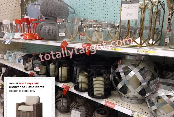 We Have A New Target Cartwheel Offer Available To Save 10% Off Clearance  Patio Items, And It Is Valid Thru 6/25 Only. There Is Quite A Bit Of Patio  ...