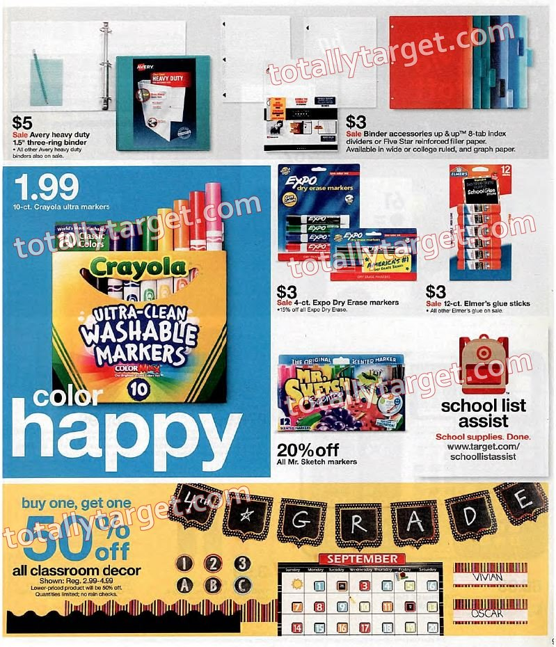 Target scannable coupons