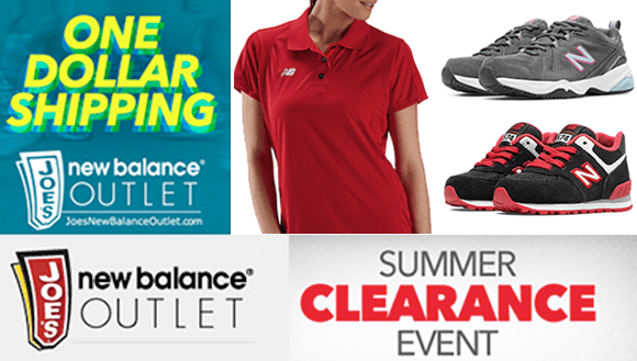 For a limited time only, Joe\u0027s New Balance Outlet is offering some great  savings during their Summer Clearance Event, with savings up to 60% off!