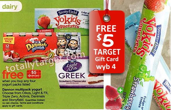 $1/1 Stonyfield Organic Yogurt Printable Coupon + FREE $5 Target
