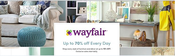 Sign Up Here For A Free Account With Wayfair And Save Up To 70 On Furniture Home Decor Lighting And Much More Even Better You Ll Receive A Promo Code