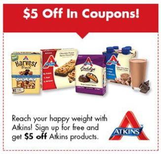 atkins coupon