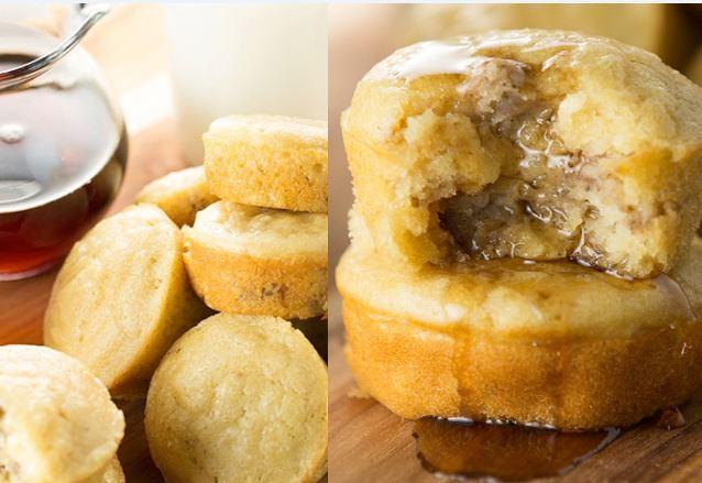 pancake sausage muffin