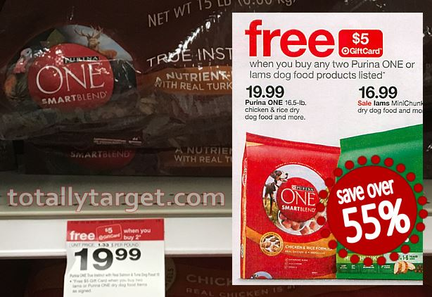 New High-Value 30% Off Purina One Dog Food Cartwheel Offers + FREE ...